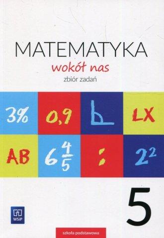 Matematyka wokół nas 5. Szkoła - okładka podręcznika