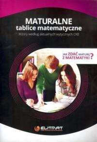 Maturalne tablice matematyczne / Elitmat - okładka podręcznika