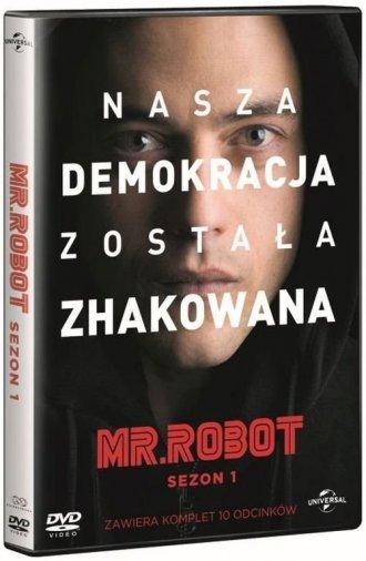 Mr Robot. Sezon 1 (box 4DVD) - okładka filmu