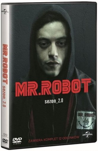 Mr Robot. Sezon 2 (box 4DVD) - okładka filmu