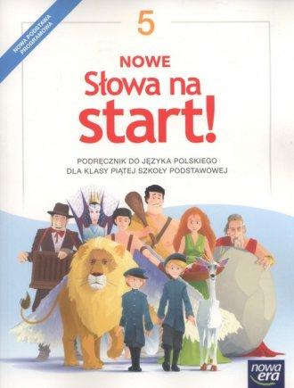 Nowe Słowa na start! 5. Szkoła - okładka podręcznika