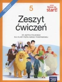 Nowe Słowa na start! 5. Szkoła podstawowa. Zeszyt ćwiczeń - okładka podręcznika
