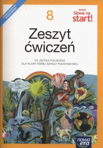 Nowe Słowa na start! 8. Szkołą - okładka podręcznika