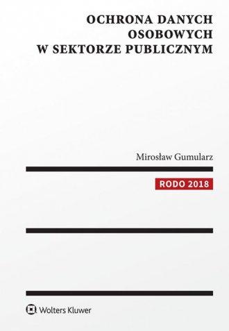 Ochrona danych osobowych w sektorze - okładka książki