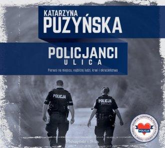Policjanci Ulica - pudełko audiobooku