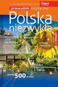 Polska Niezwykła przewodnik turystyczny - okładka książki