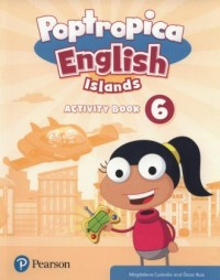 Poptropica English Islands 6 Activity book - okładka podręcznika