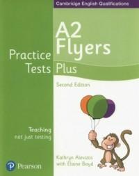 Practice Tests Plus A2 Flyers - okładka podręcznika