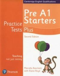 Practice Tests Plus Pre A1 Starters - okładka podręcznika