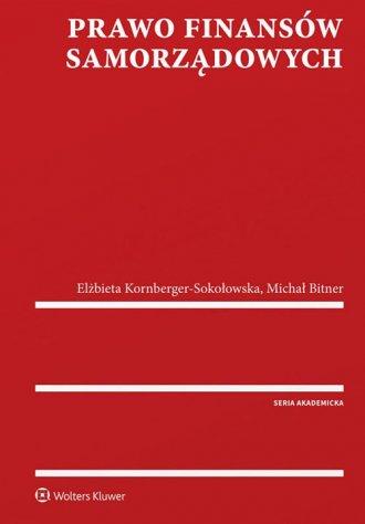 Prawo finansów samorządowych - okładka książki