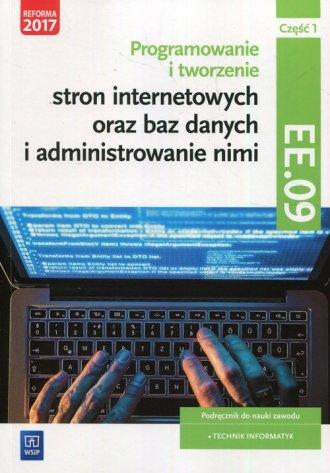 Programowanie tworzenie stron internetowych - okładka podręcznika