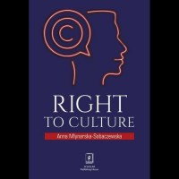Right to culture - okładka książki