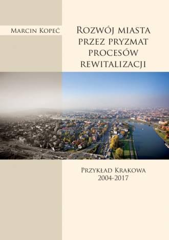 Rozwój miasta przez pryzmat procesów - okładka książki