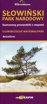 Słowiński Park Narodowy Ilustrowany przewodnik z mapami - okładka książki