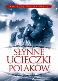 Słynne ucieczki Polaków - okładka książki