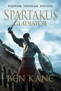 Spartakus Gladiator - okładka książki