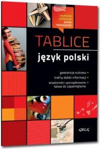 Tablice język polski - okładka podręcznika