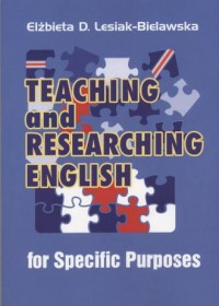 Teaching and Researching English for Specific Purposes - okładka książki