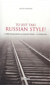To jest taki Russian style! - okładka książki