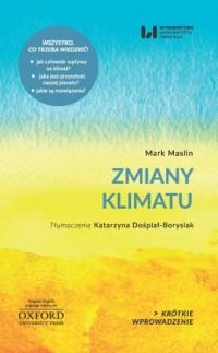 Zmiany klimatu. Krótkie Wprowadzenie 11 - okładka książki