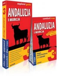 Andaluzja i Murcja 3w1: przewodnik + atlas + mapa - okładka książki
