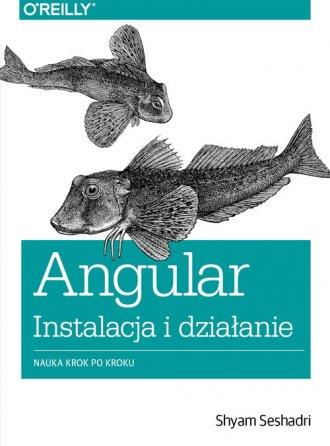 Angular instalacja i działanie. - okładka książki