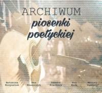 Archiwum piosenki poetyckiej - okładka płyty