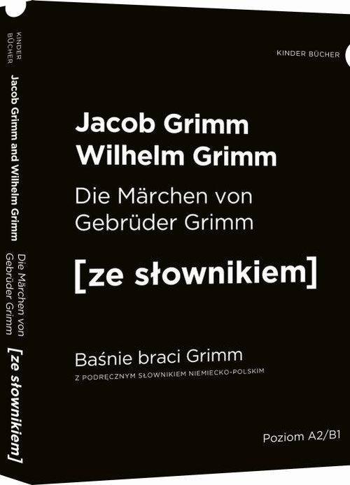 Baśnie braci Grimm wersja niemiecka. - okładka podręcznika