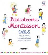 Biblioteczka Montessori Czas - okładka książki