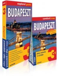 Budapeszt 3w1: przewodnik + atlas + mapa - okładka książki