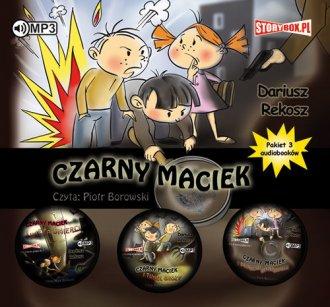 Czarny Maciek. PAKIET - pudełko audiobooku