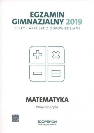 Egzamin gimnazjalny 2019. Testy - okładka podręcznika