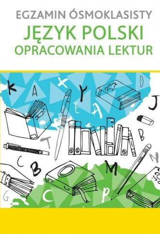 Egzamin ósmoklasisty. Język polski. - okładka podręcznika
