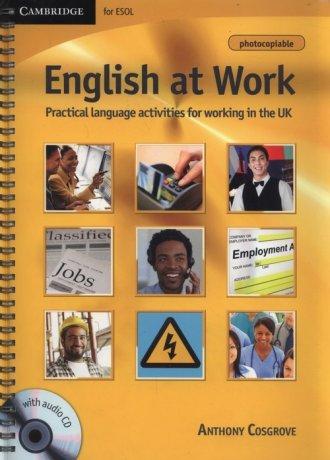 English at Work (+ CD) - okładka podręcznika