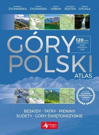 Góry Polski. Atlas - okładka książki