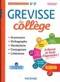 Grevisse du college - okładka podręcznika