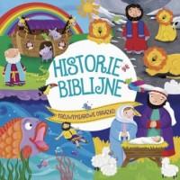 Historie Biblijne. Trójwymiarowe obrazki - okładka książki