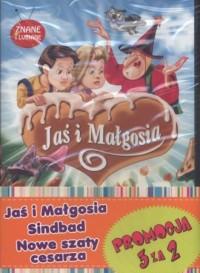 Jaś i Małgosia / Sindbad / Nowe szaty Cesarza. PAKIET - okładka filmu