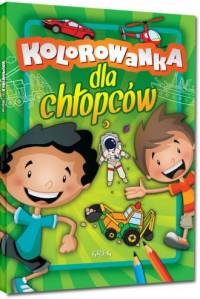Kolorowanka dla chłopców - okładka książki