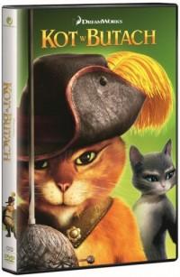 Kot w butach DVD - okładka filmu