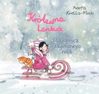Królewna Lenka i tajemnica zaginionego - okładka książki