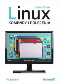 Linux Komendy i polecenia - okładka książki