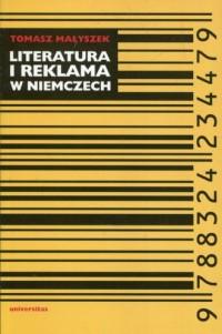 Literatura i reklama w Niemczech - okładka książki