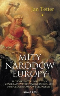 Mity narodów Europy - okładka książki