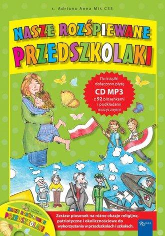 Nasze rozśpiewane przedszkolaki - okładka książki