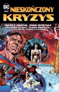 Nieskończony kryzys DC Deluxe - okładka książki
