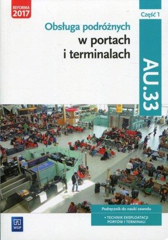 Obsługa podróżnych w portach i - okładka podręcznika