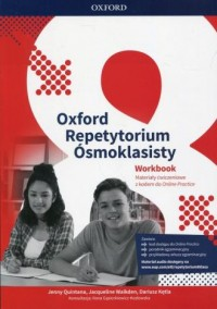 Oxford Repetytorium Ósmoklasisty Workbook with Online Practice. Materiały ćwiczeniowe z kodem do Online Practice - okładka podręcznika