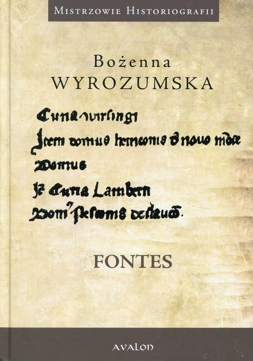 Prace wybrane z dziejów średniowiecza - okładka książki