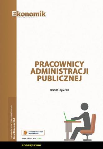 Pracownicy administracji publicznej. - okładka podręcznika